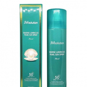 Солнцезащитный спрей с жемчугом JMsolution Marine Luminous Pearl Sun Protection Sun Spray SPF50+ PA+++