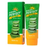 Солнцезащитный крем FARMSTAY Aloevera Perfect Sun Cream с SPF50+ PA+++